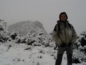 Nevada en Alcoi