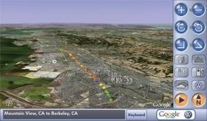 Google GPS en el coche