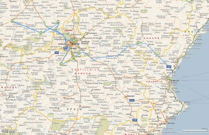 Itinerarios multipunto con Google (posible bug)