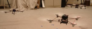 Robots voladores de búsqueda y seguimiento