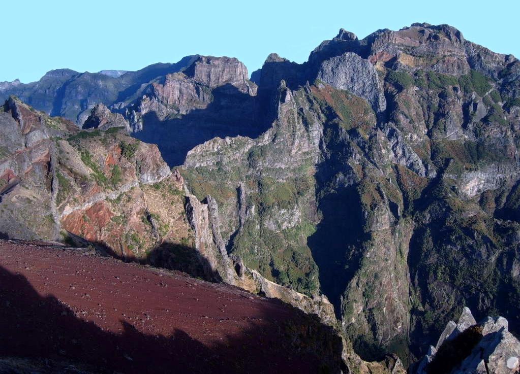 Montañas de Madeira