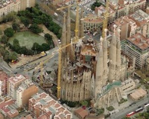 Valencia y Barcelona a vista de pájaro