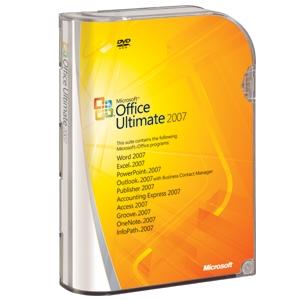 Office 2007 Ultimate para estudiantes por 52 euros