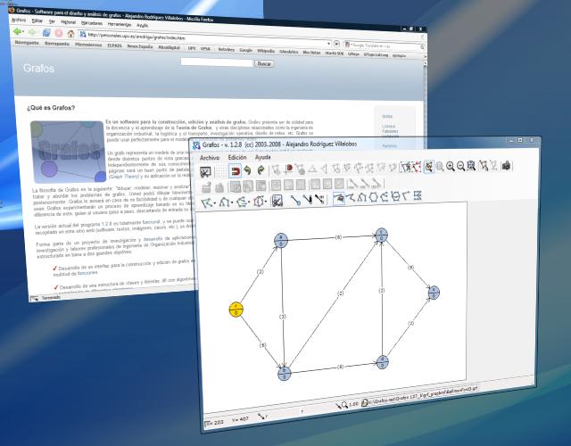 Grafos en Windows Vista