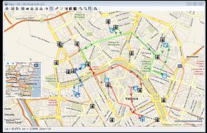 Rutas – búsqueda y representación de puntos de interés (POIs) próximos