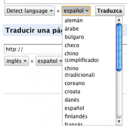 Google Translate – traducción de textos en la red