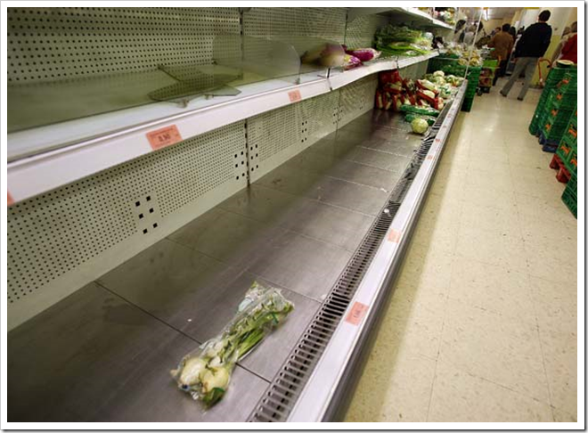 En Mercadona faltan alimentos - El País
