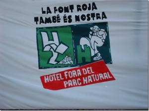 No queremos Hotel dentro del Parque Natural (III)