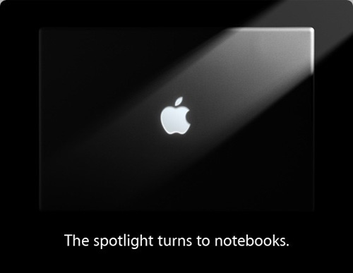 Apple notebooks focus