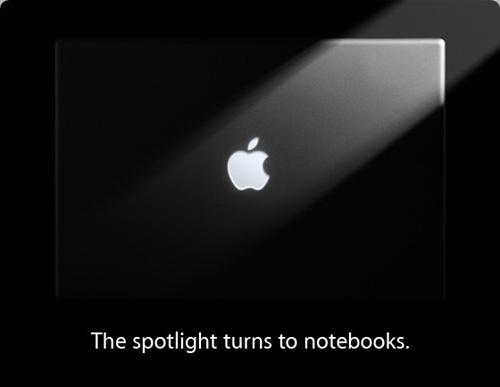 Apple notebooks focus