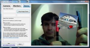 Cámara web multitáctil