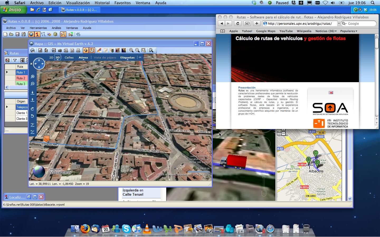 Rutas en Mac OS X