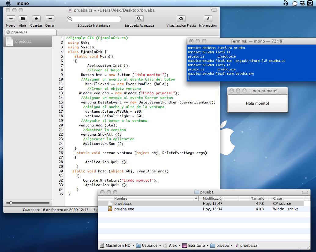 CSharp en OS X