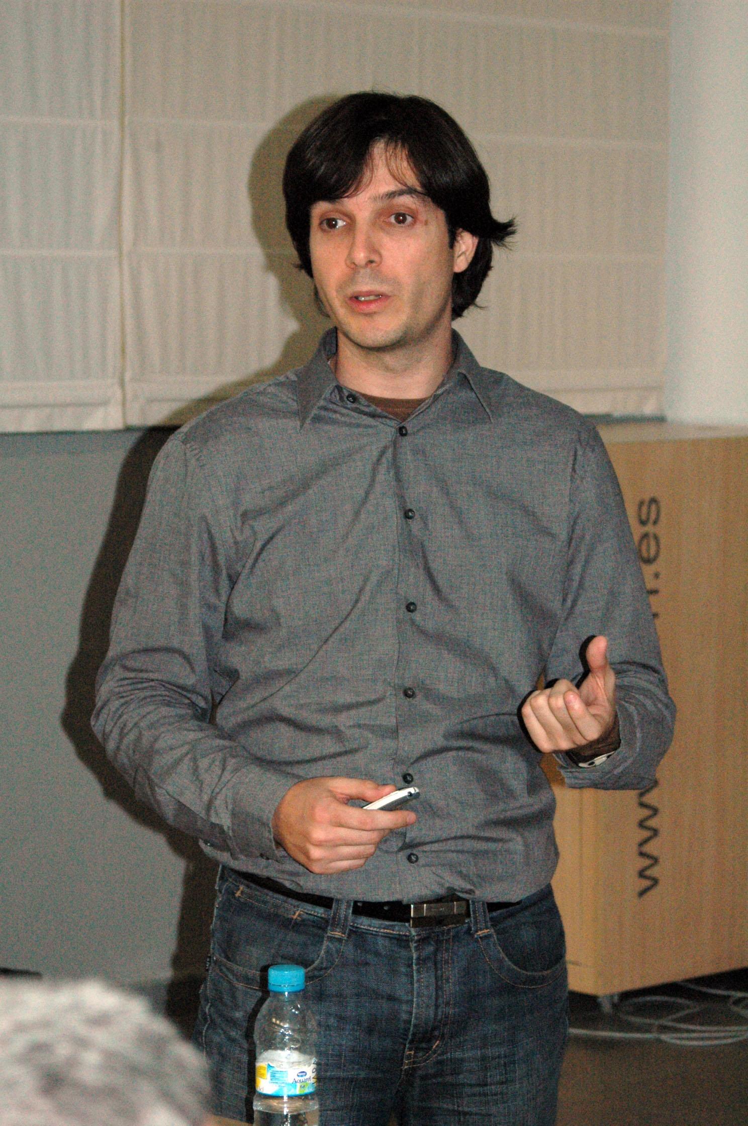 Alejandro Rodríguez presentación RoutingMaps