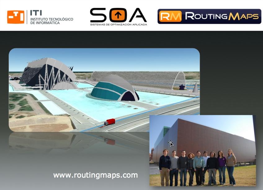 Routing Maps, equipo de desarrollo