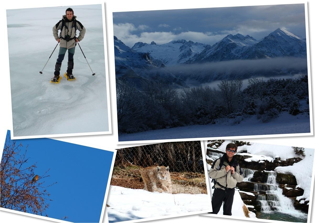 Alex en Pirineos