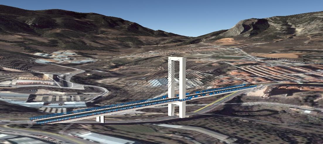 Puente de Fernando Reig de Alcoy en 3D - Nacho Soler Seguí