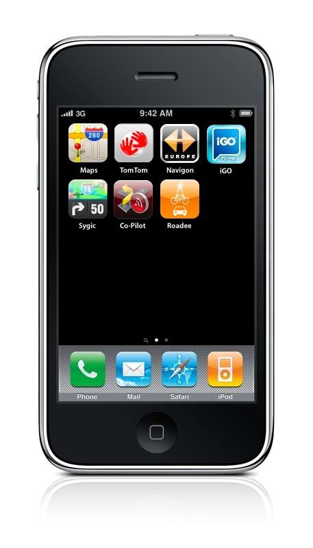 Navegación GPS en el iPhone