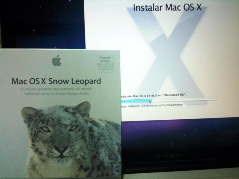 Instalación de Snow Leopard