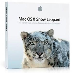 Actualización a Snow Leopard