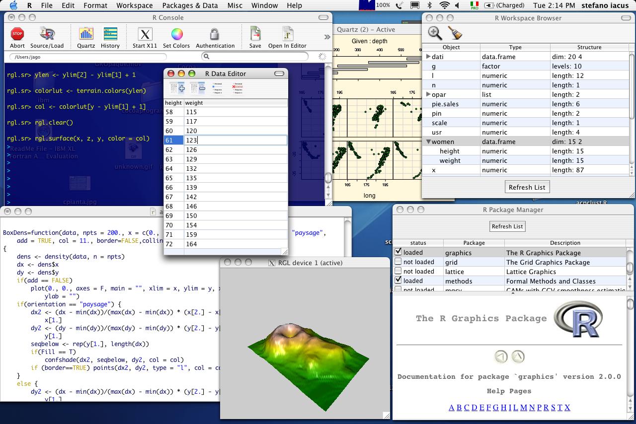 R en Mac OS X