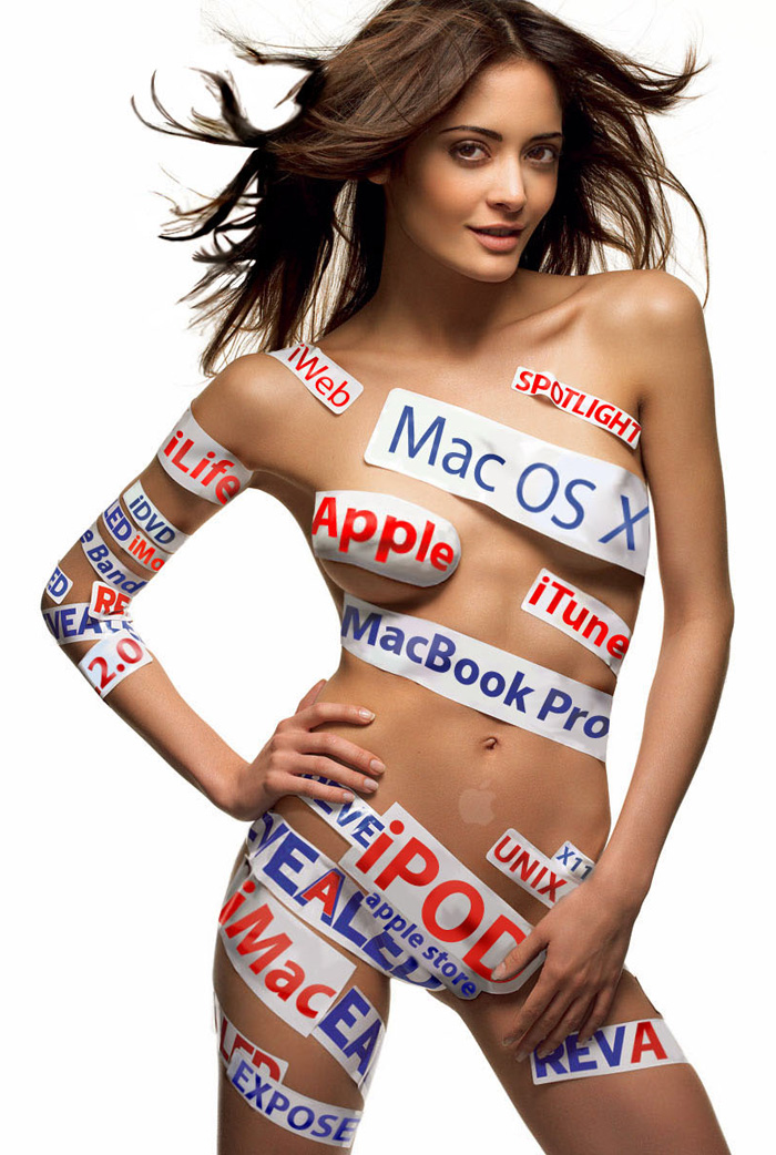 Sexy Apple girl