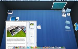 BumpTop: escritorio 3D en Mac