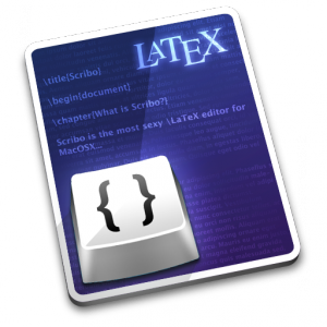 Scribo: aplicación para editar LaTeX en Mac OS X