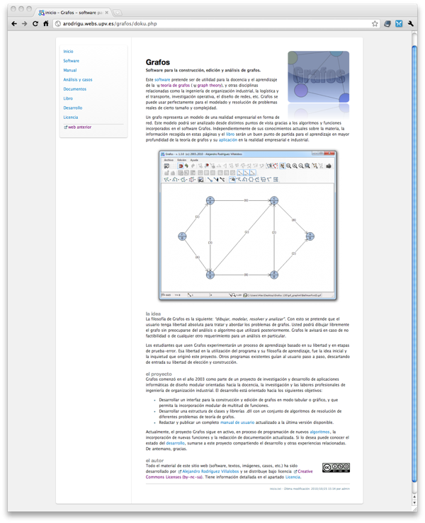 nueva web de Grafos