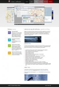 Rutas – software para el cálculo de rutas y gestión de flotas