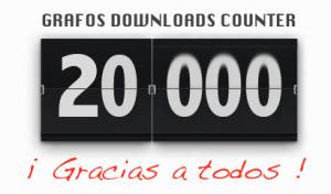 Grafos alcanza las 20.000 descargas