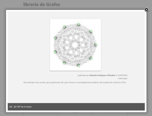 librería de grafos (detalle)