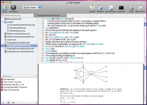 Latexian: un editor LaTeX para Mac OS X