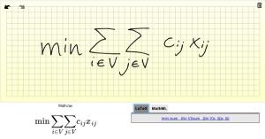 Ecuaciones matemáticas en LaTeX