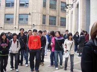alumnos de China en la EPSA
