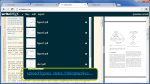 writeLATEX – otro editor colaborativo LaTeX en la web