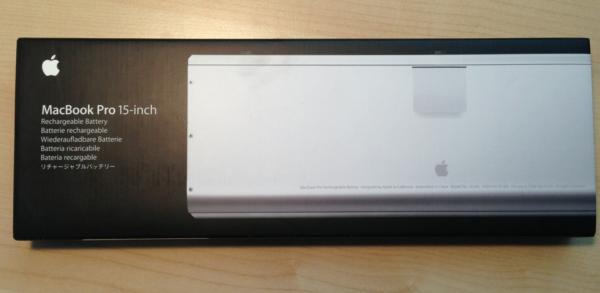 batería nueva para Macbook Pro 15''
