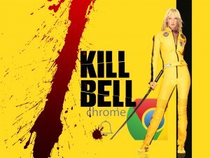 kill bell Google Chrome