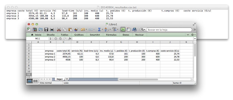 exportar datos desde implexa a Excel es muy sencillo