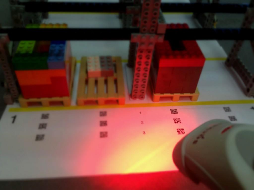 integración de un SGA y un lector de códigos de barras en LLOG