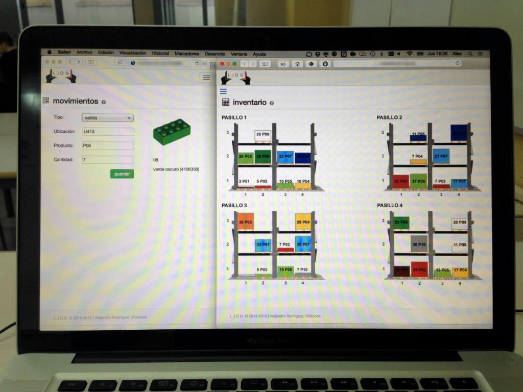 el SGA de LLOG es una aplicación web