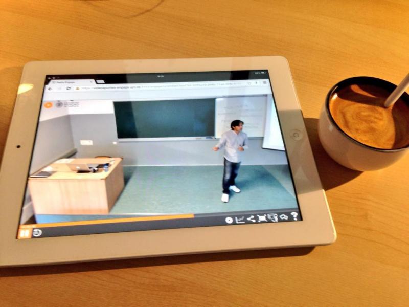 videoapuntes desde el iPad