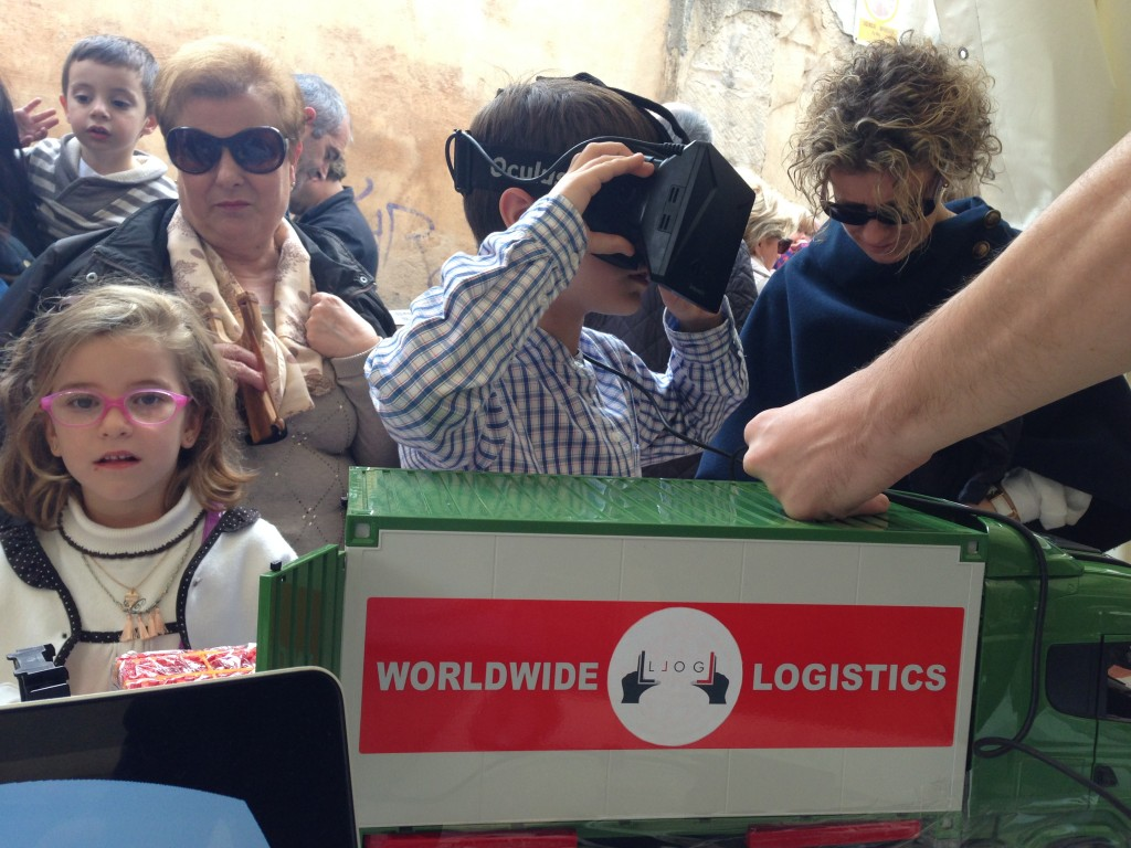 LLOG - un almacén con realidad virtual