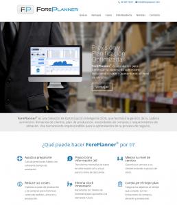 ForePlanner – software de previsión y optimización de la planificación