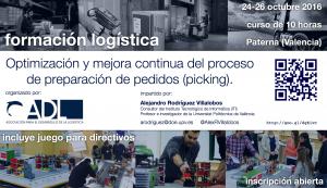 curso: Optimización y mejora continua del proceso de preparación de pedidos (picking).