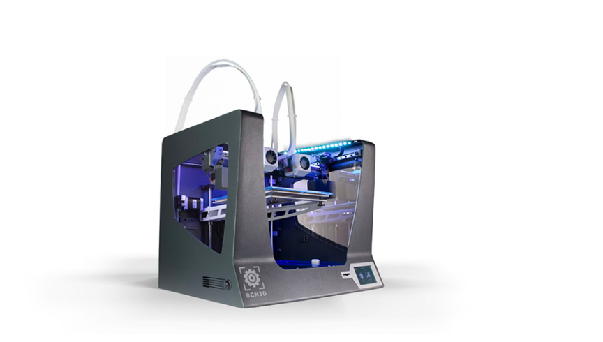 la máquina Sigma 3 de BCN3D fue la seleccionada para nuestra impresión 3D.