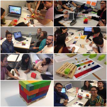 Aprender haciendo y clase inversa de Diseño y optimización del paletizado.