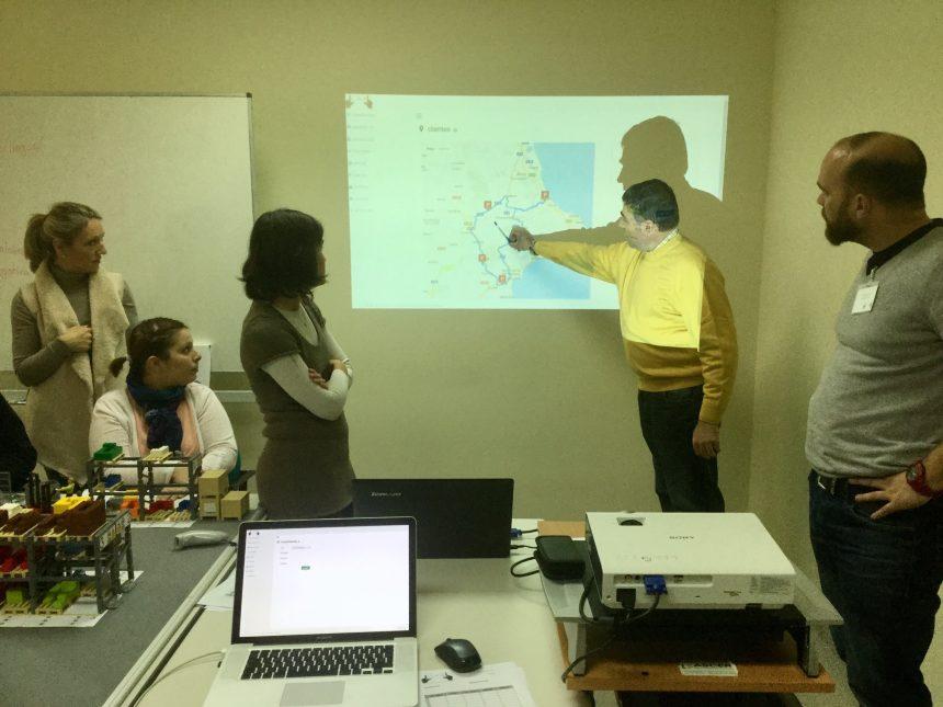 Asumiendo el rol de expediciones y cálculo de ruta óptima