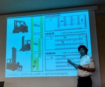 Relacionando equipamiento de manutención y de almacenaje en ITENE