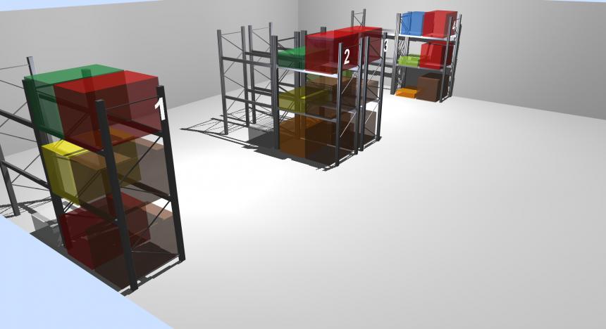 LLOG visualizando la saturación del almacén